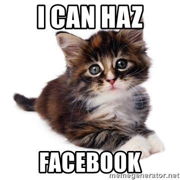 fyeahpussycats - i can haz facebook