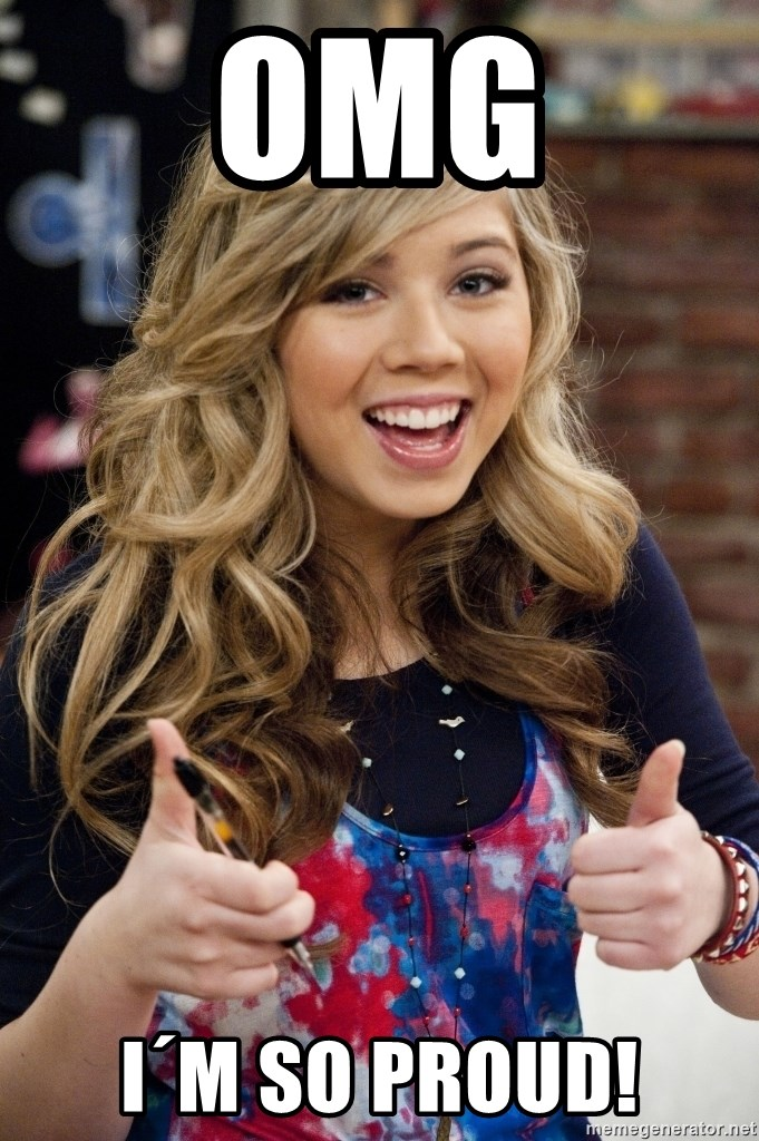 sucess sam puckett - OMG i´m So PROUd!
