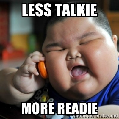 fat chinese kid - Less Talkie More Readie