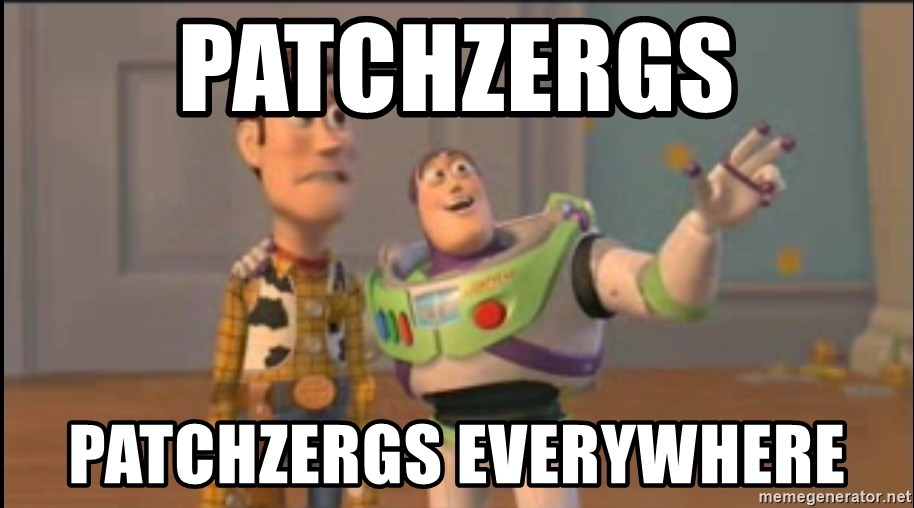 X, X Everywhere  - Patchzergs Patchzergs everywhere