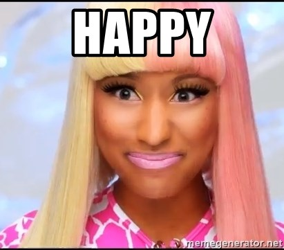 NICKI MINAJ - Happy