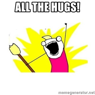 clean all the things blank template - All the Hugs!