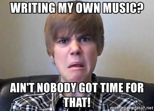 Justin Bieber 213 - Writing my own music? Ain't nobody got time for that!