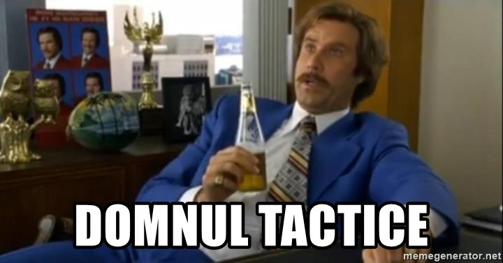 That escalated quickly-Ron Burgundy - domnul tactice