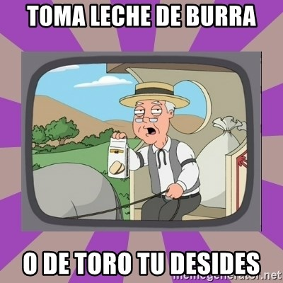 Pepperidge Farm Remembers FG - toma leche de burra o de toro tu desides