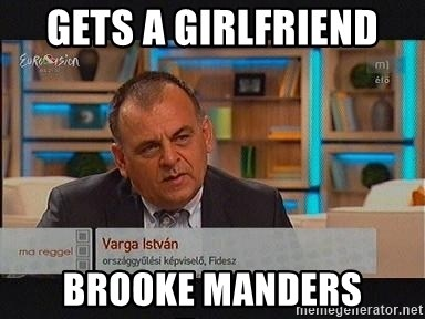 vargaistvan - GETS A GIRLFRIEND  BROOKE MANDERS