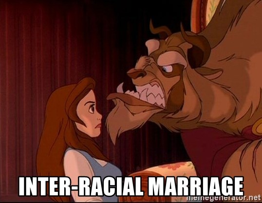 BeastGuy - Inter-racial marriage