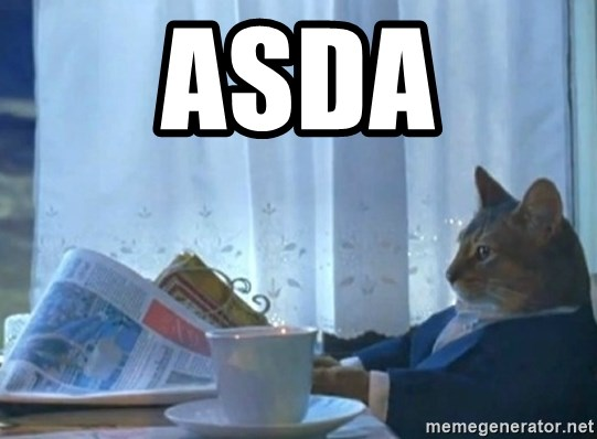 Sophisticated Cat - asda