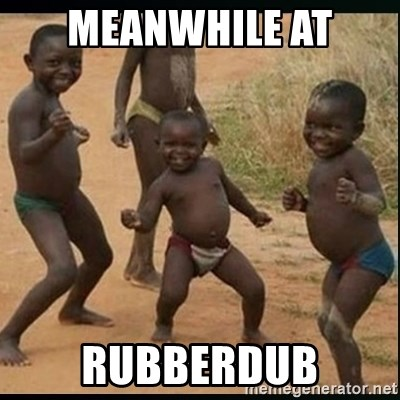Dancing black kid - meanwhile at rubberdub