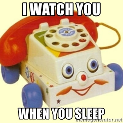 Sinister Phone - i watch you when you sleep