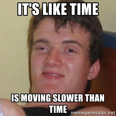 Stoner Stanley - It's like time Is moving Slower than time