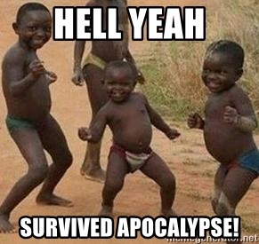 african children dancing - hell yeah SURVIVED apocalypse!