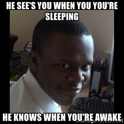 KSI RAPE  FACE - He see's you when you you're sleeping he knows when you're awake