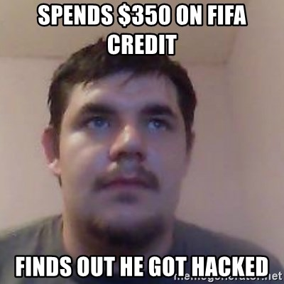 Ash the brit - SPENDS $350 ON FIFA CREDIT  FINDS OUT HE GOT HACKED