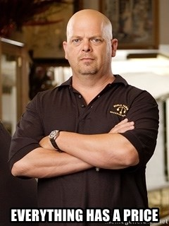 Rick Harrison - eVERYTHING HAS A PRICE