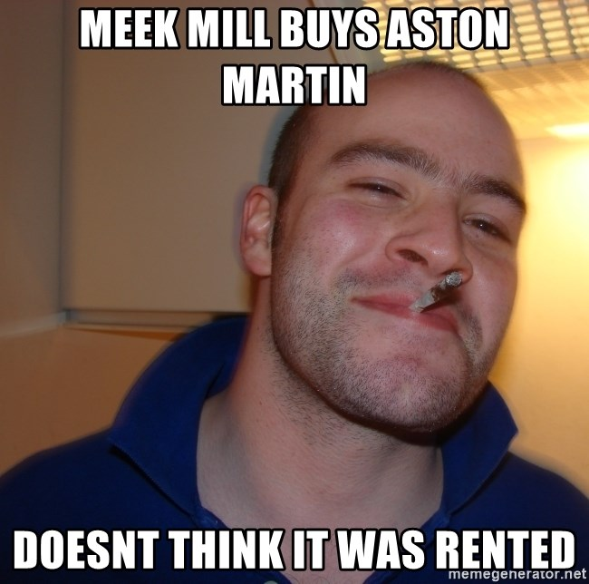 Meek Mill Buys Aston Martin Doesnt Think It Was Rented Good Guy