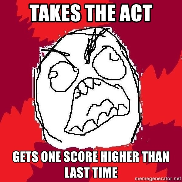 Rage FU - Takes The act gets one score higher than last time