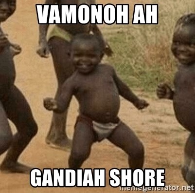 Success African Kid - Vamonoh ah gandiah shore