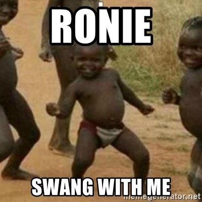 Black Kid - RONIE  SWANG WITH ME