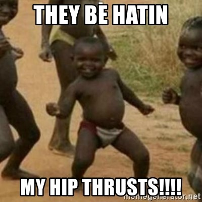 Black Kid - THEY BE HATIN MY HIP THRUSTS!!!!