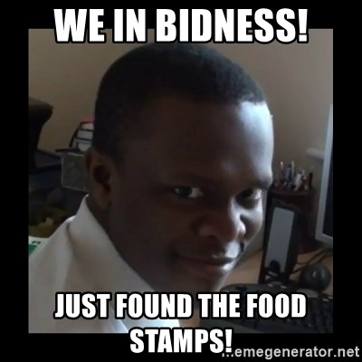 KSI RAPE  FACE - We in bidness! just found the food stamps!