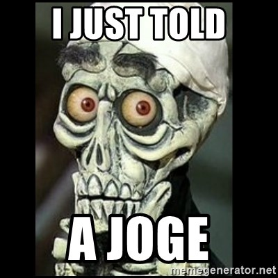 Achmed the dead terrorist - I JUST TOLD A JOGE