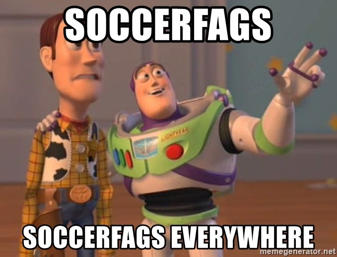 Tseverywhere - soccerfags soccerfags everywhere