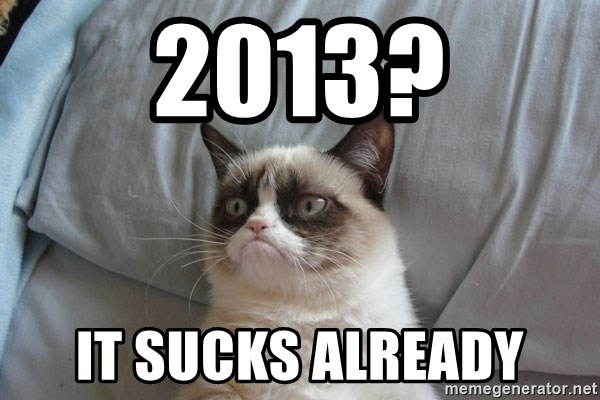 Grumpy cat good - 2013? it sucks already