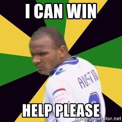 Rodolph Austin - I CAN WIN HELP PLEASE