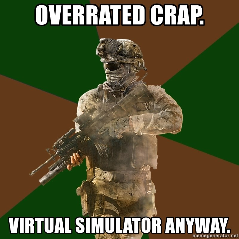 Call Of Duty Addict - overrated crap. virtual simulator anyway.