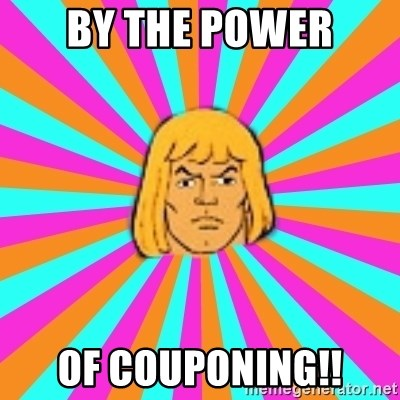 He-Man - By the power Of Couponing!!