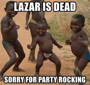 african children dancing - lazar is dead sorry for party rocking