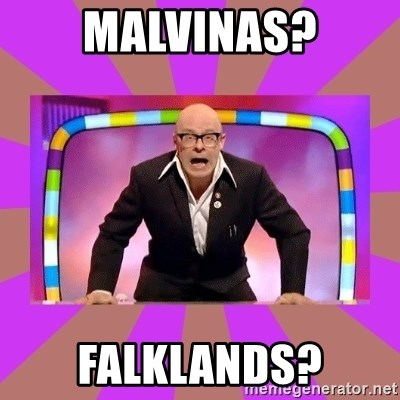 Harry Hill Fight - malvinas? Falklands?
