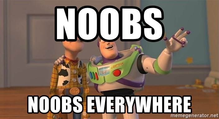 Toy Story Everywhere - noobs noobs everywhere