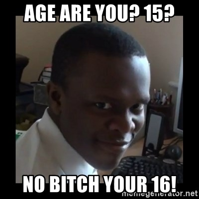 KSI RAPE  FACE - age are you? 15? No bitch your 16!