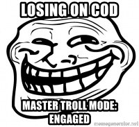 Troll Face in RUSSIA! - losing on Cod  master troll mode: engaged