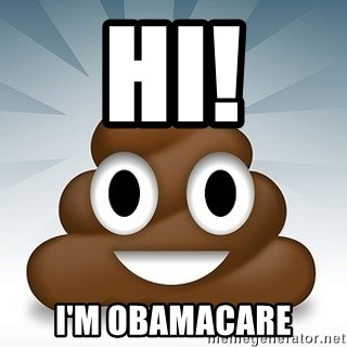 Facebook :poop: emoticon - Hi! I'm obamacare