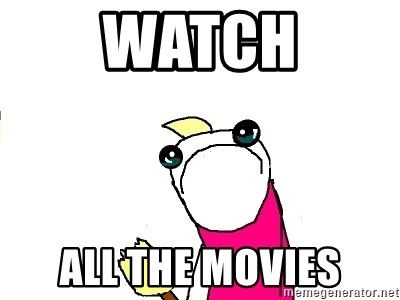 X ALL THE THINGS - watch all the movies