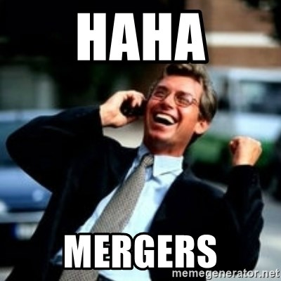 HaHa! Business! Guy! - HAHA MERGERS