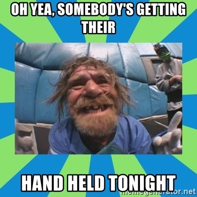 hurting henry - OH YEA, SOMEBODY'S GETTING THEIR HAND HELD TONIGHT
