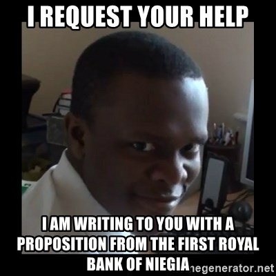 KSI RAPE  FACE - I REQUEST YOUR HELP I AM WRITING TO YOU WITH A PROPOSITION FROM THE FIRST ROYAL BANK of niegia