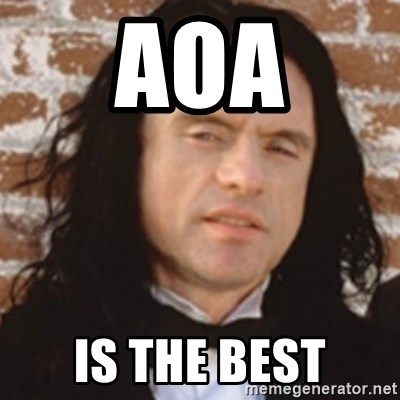 Disgusted Tommy Wiseau - aoa is the best