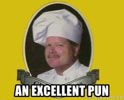 Chef Excellence - an excellent pun