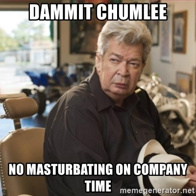 old man pawn stars - Dammit Chumlee No masturbating on company time