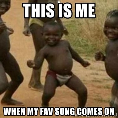 Black Kid - THIS IS ME WHEN MY FAV SONG COMES ON