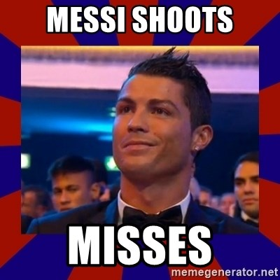 CR177 - MESSI SHOOTS MISSES