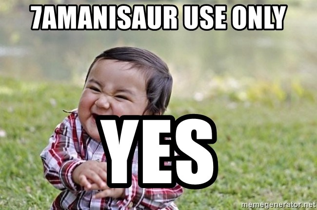 evil asian plotting baby - 7amanisaur use only yes