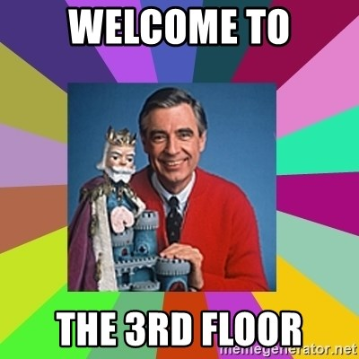 mr rogers  - Welcome to the 3rd floor