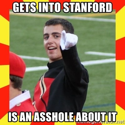 lovett - Gets Into Stanford Is An Asshole About it