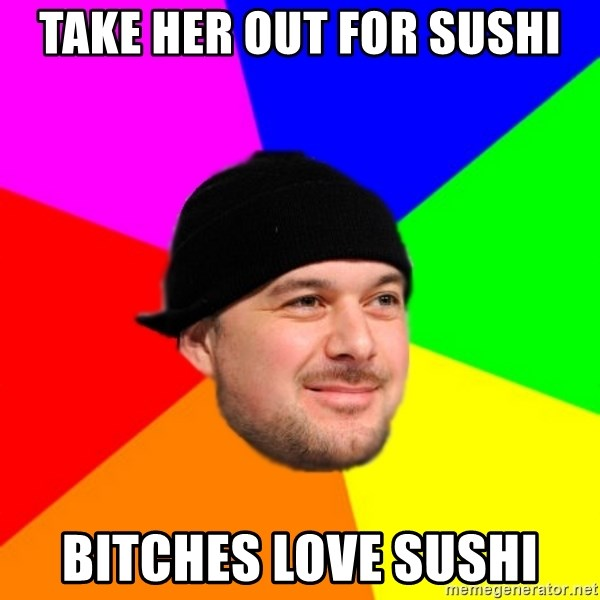 King Kool Savas - TAKE HER OUT FOR SUSHI BITCHES LOVE SUSHI